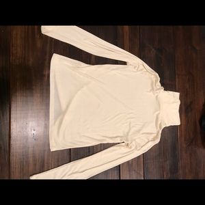 Thin Cream Madewell Turtleneck Size L